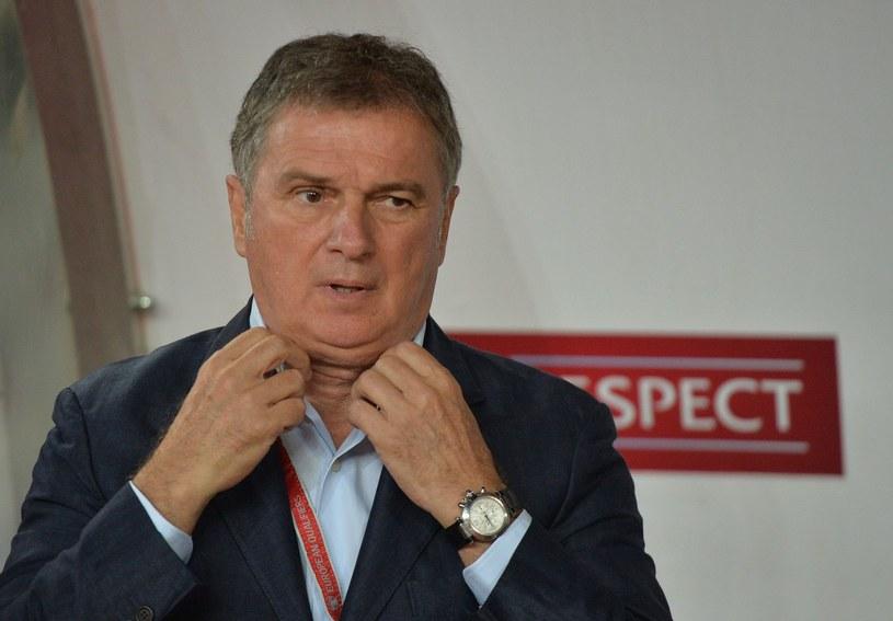 Trener Czarnogórców mógł być zadowolony. Jego podopieczni przed własną publicznością odnieśli pierwsze zwycięstwo w kwalifikacjach do mundialu /AFP