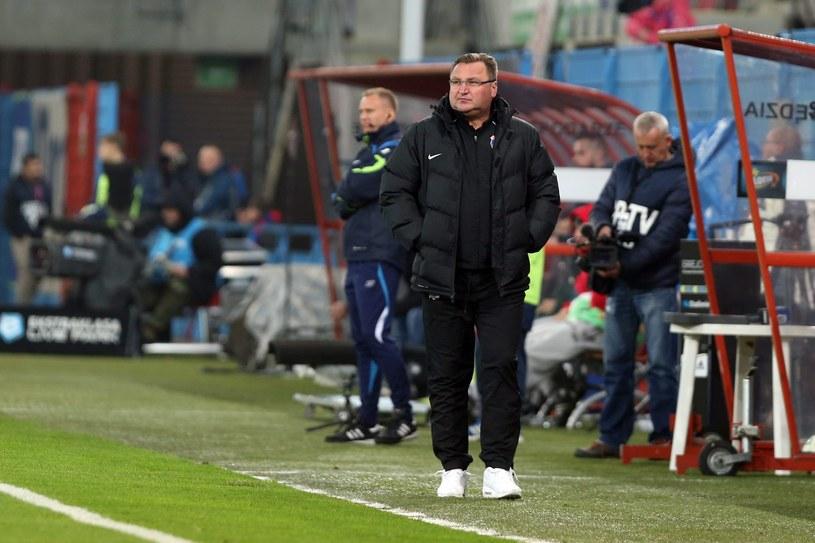 Trener Czesław Michniewicz /Jan Kowalski /