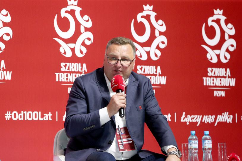 Trener Czesław Michniewicz /Jakub Piasecki /Newspix