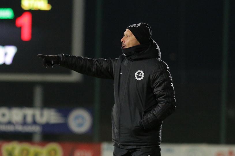 Trener Dariusz Marzec /Maciej Gilewski /Newspix