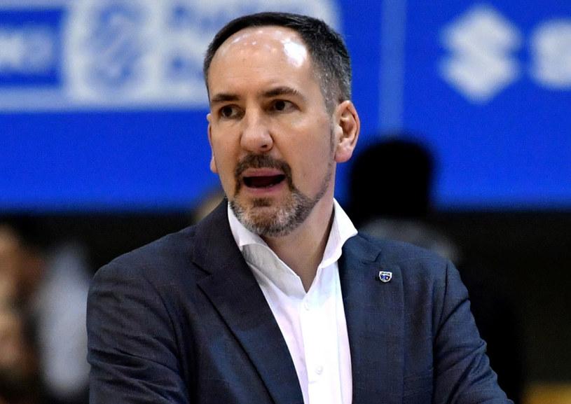 Trener drużyny Polski Cukier Toruń Sebastian Machowski /Piotr Nowak /PAP