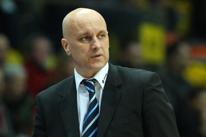 Trener Energi Toruń Elmedin Omanić /Fot. Piotr Wittman /PAP