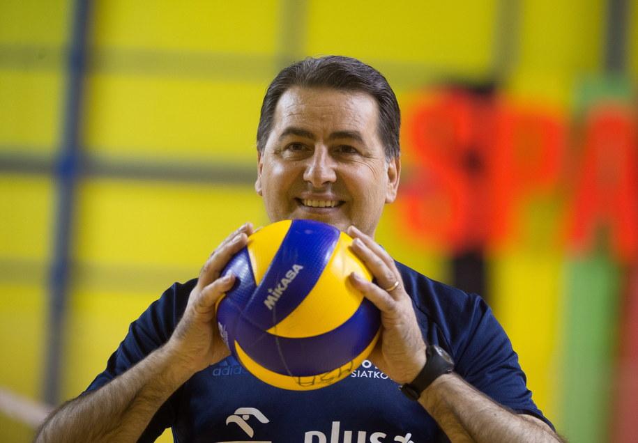 Trener Ferdinando De Giorgi /Grzegorz Michałowski /PAP