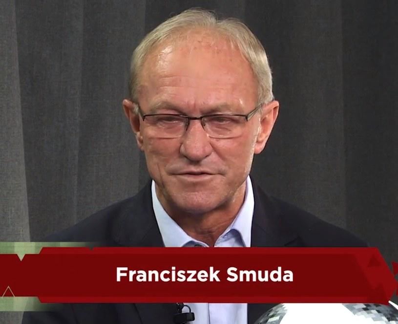 Trener Franciszek Smuda. /Michał Białoński /INTERIA.PL