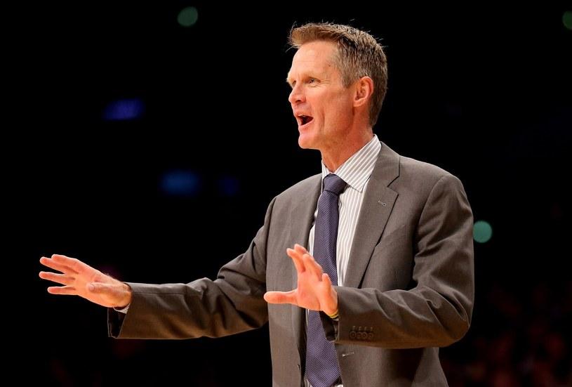 Trener Golden State Warriors Steve Kerr /AFP
