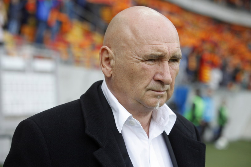 Trener Górnika Zabrze Jan Żurek /Fot. Artur Reszko /PAP