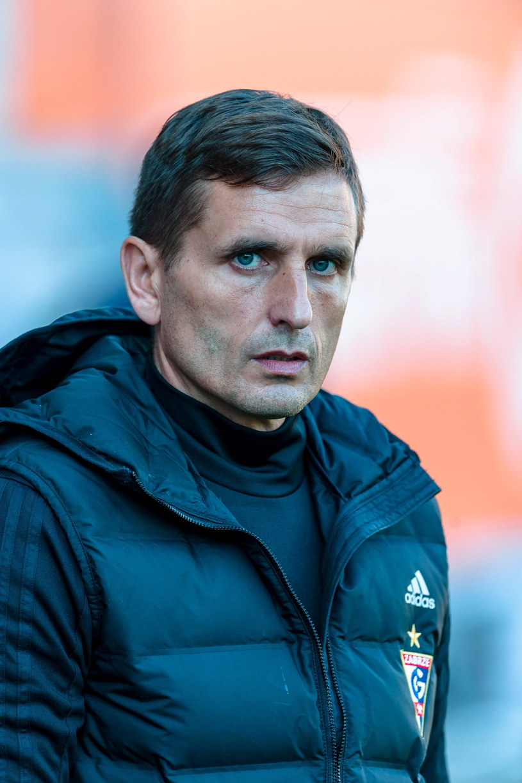 Trener Górnika Zabrze Marcin Brosz /Fot. Jan Karwowski /PAP
