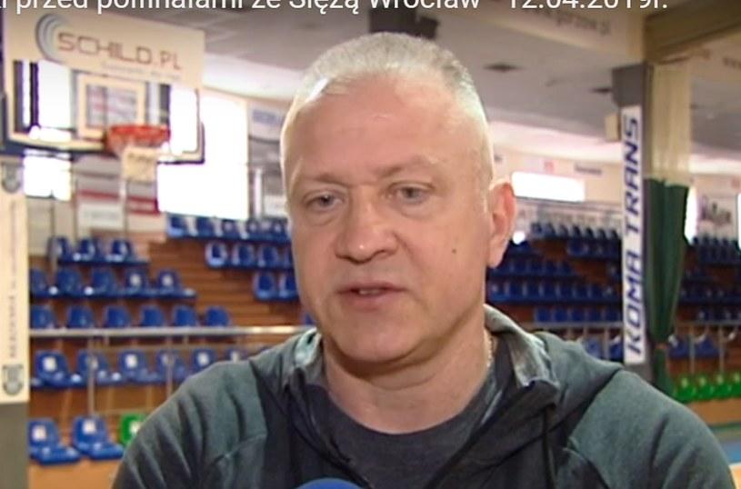 Trener gorzowianek - Dariusz Maciejewski /INTERIA.PL