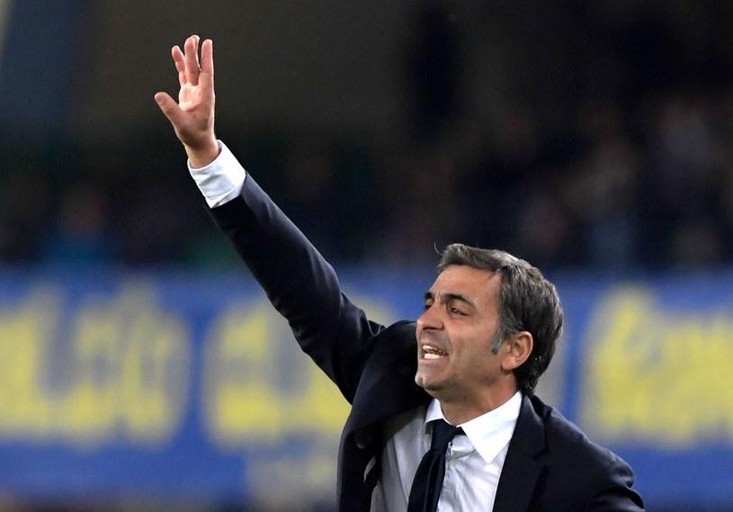 Trener Hellas Fabio Pecchia /MIGUEL MEDINA /AFP