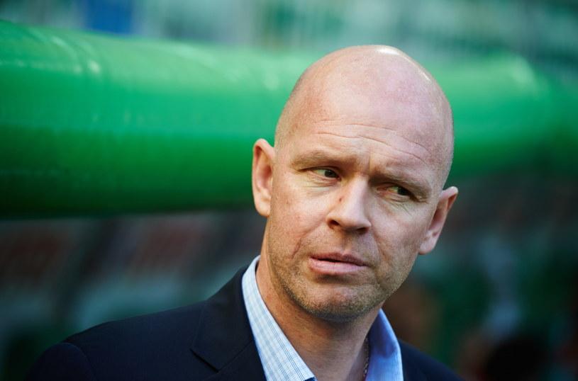 Trener Henning Berg będzie bacznie obserwował Pablo Dyego /Fot. Adam Warżawa /PAP