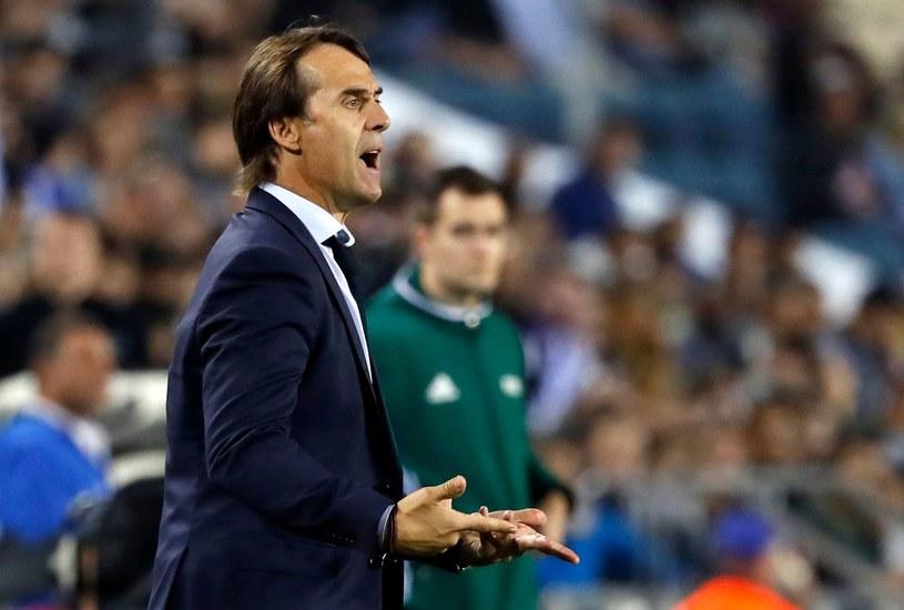 Trener Hiszpanów Julen Lopetegui /AFP