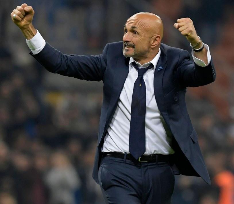 Trener Interu Mediolan Luciano Spalletti /AFP
