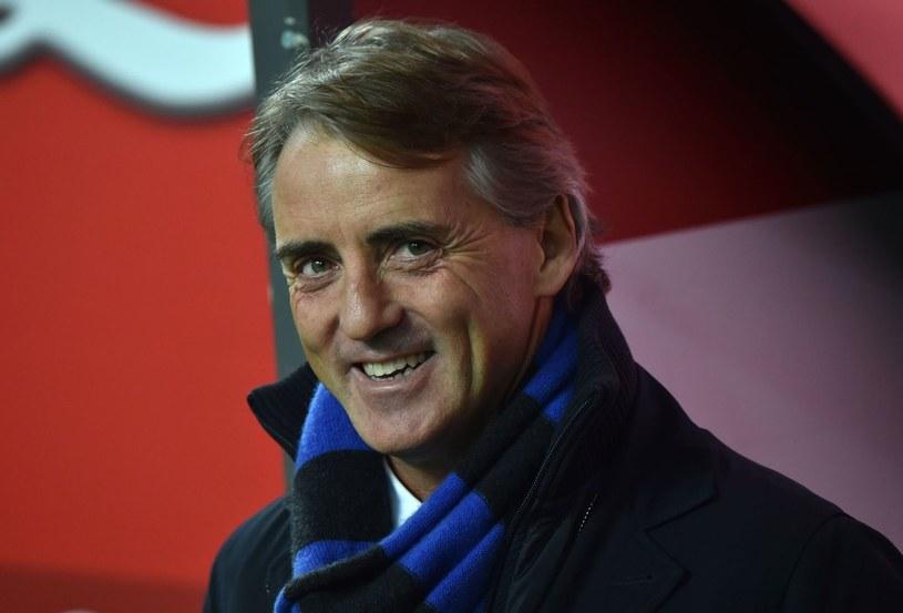 Trener Interu Mediolan Roberto Mancini /AFP