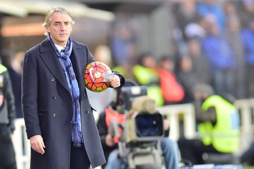 Trener Interu Mediolanu Roberto Mancini /AFP