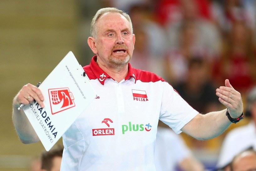 Trener Jacek Nawrocki /Piotr Matusewicz /East News