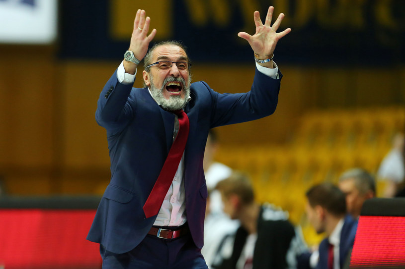 Trener Jacek Winnicki /Piotr Matusewicz /East News