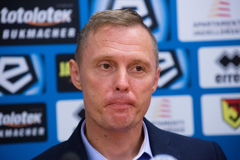 Trener Jagiellonii Białystok Ireneusz Mamrot /Fot. Anatol Chomicz/Polska Press /East News