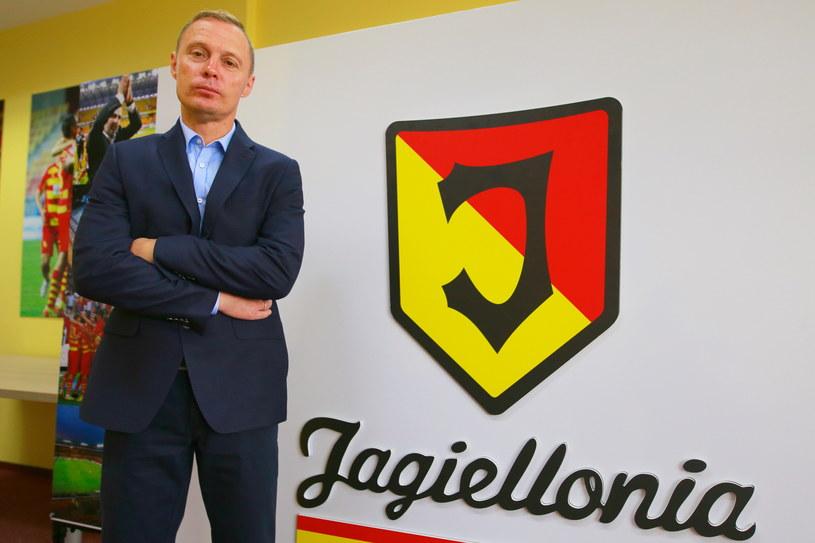 Trener Jagiellonii Ireneusz Mamrot /Fot. Maciej Gilewski /Newspix