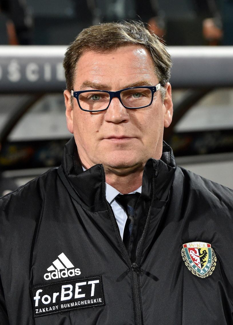Trener Jan Urban /Jacek Bednarczyk /PAP