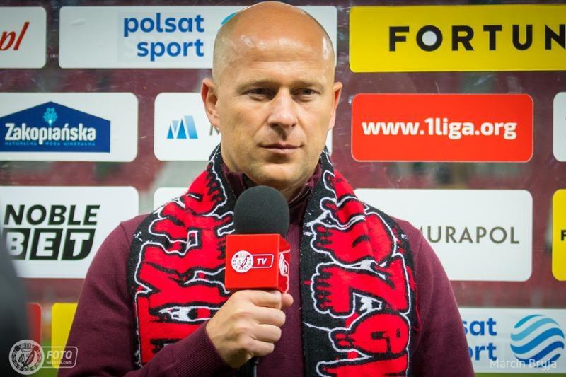 Trener Janusz Niedźwiedź /Marcin Bryja/Widzew /materiały prasowe
