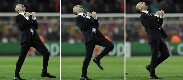 Trener Josep Guardiola /AFP