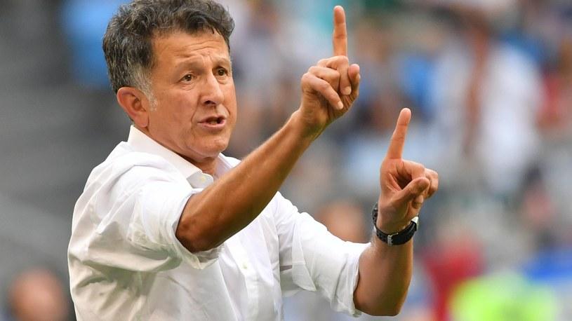 Trener Juan Carlos Osorio /SID