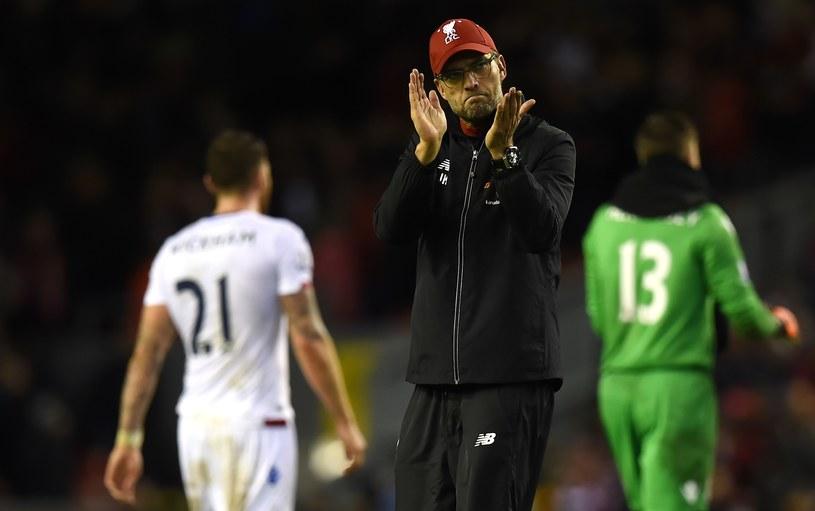 Trener Jurgen Klopp po przegranym meczu z Cristal Palace /AFP