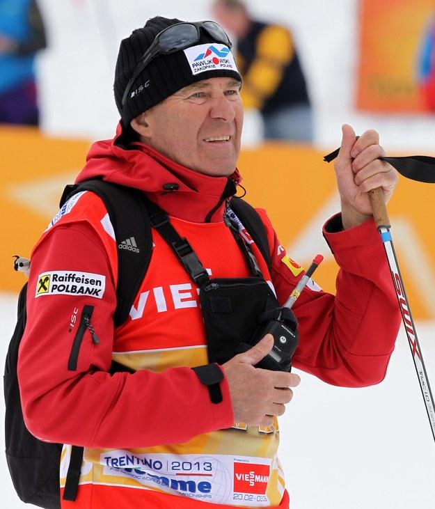 Trener Justyny Kowalczyk Aleksander Wierietelny /Grzegorz Momot /PAP
