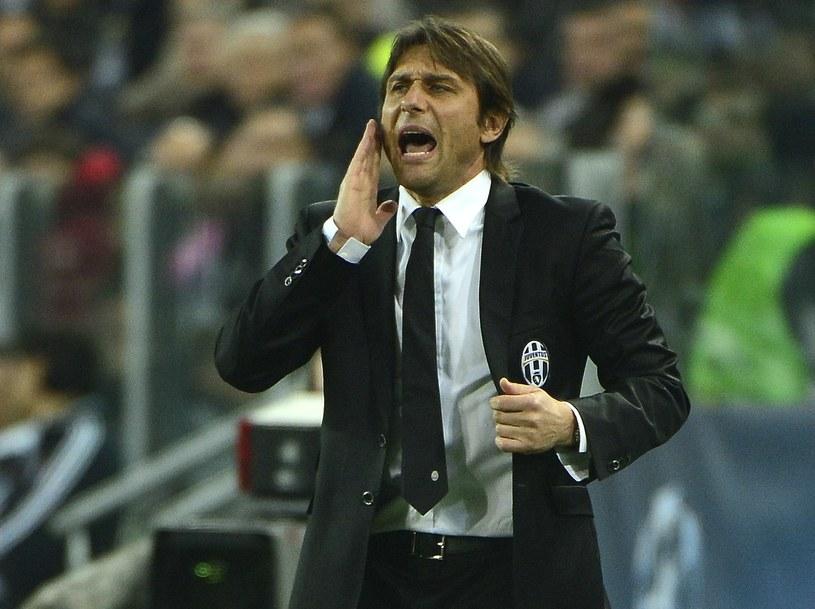 Trener Juventusu Antonio Conte /AFP