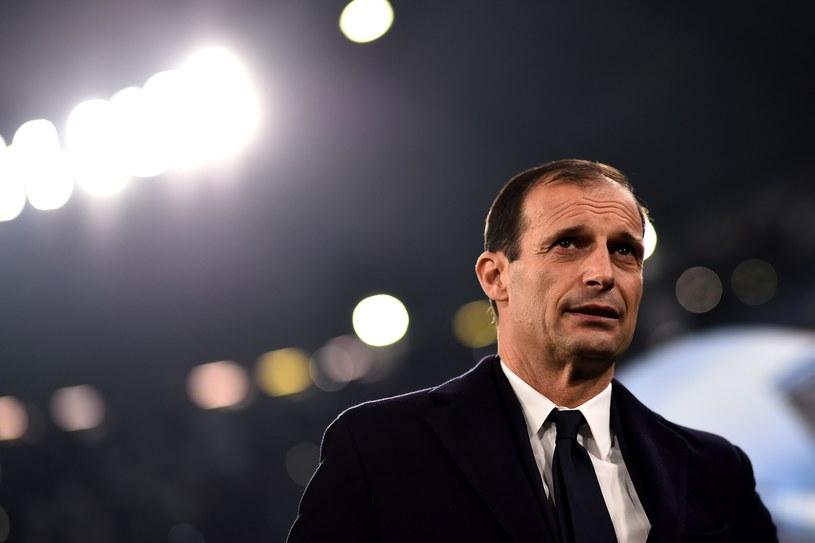 Trener Juventusu Massimiliano Allegri /MARCO BERTORELLO /AFP