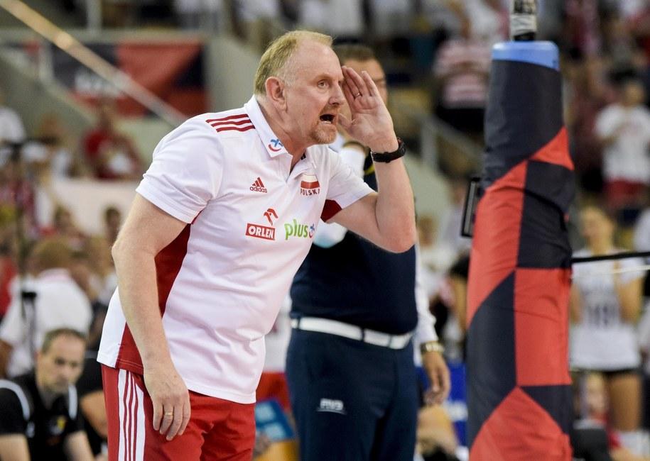 Trener kadry Jacek Nawrocki /PZPS /