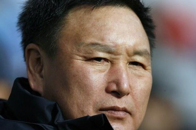 Trener kadry Korei - Huh Jung-moo /AFP