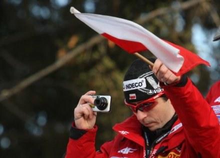 Trener kadry skoczków - Łukasz Kruczek /AFP
