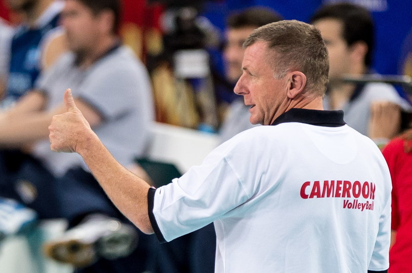 Trener Kamerunu Peter Nonenbroich /Maciej Kulczyński /PAP