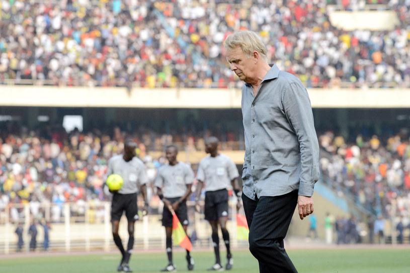 Trener Kamerunu - Volker Finke /AFP
