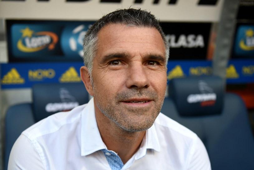 Trener Korony Kielce Gino Lettieri /Fot. Jan Dzban /PAP