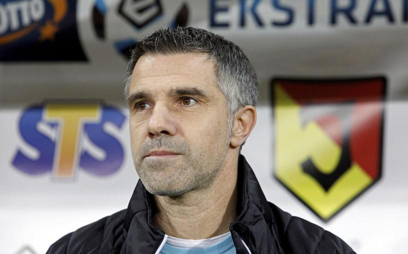 Trener Korony Kielce Gino Lettieri /Fot. Artur Reszko /PAP