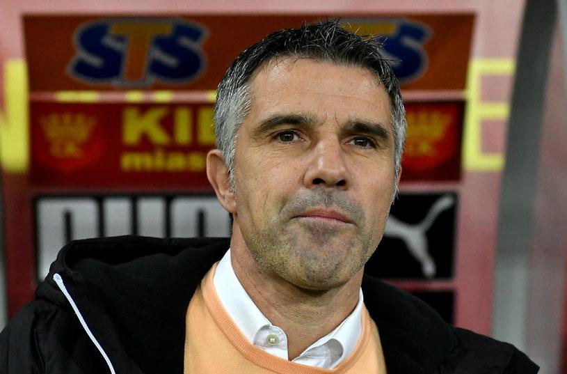 Trener Korony Kielce Gino Lettieri /Piotr Polak /PAP