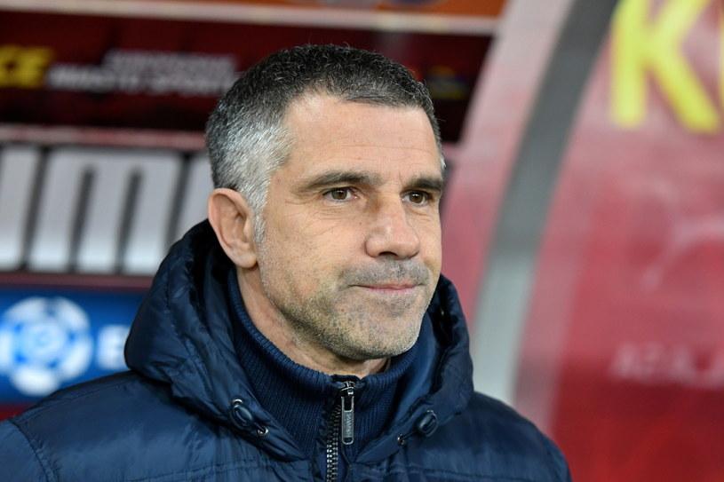 Trener Korony Kielce Gino Lettieri /PAP