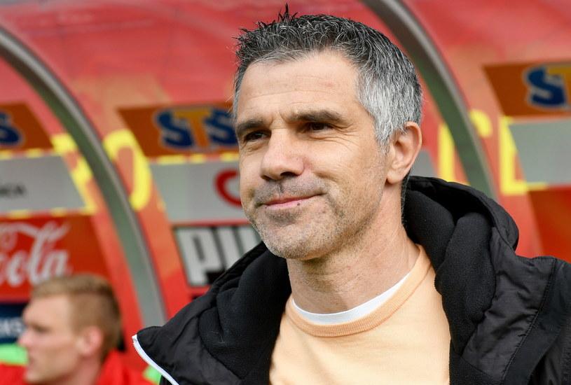 Trener Korony Kielce Gino Lettieri / Piotr Polak    /PAP