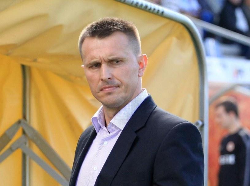 Trener Korony Kielce Leszek Ojrzyński /Fot. Michał Walczak /PAP