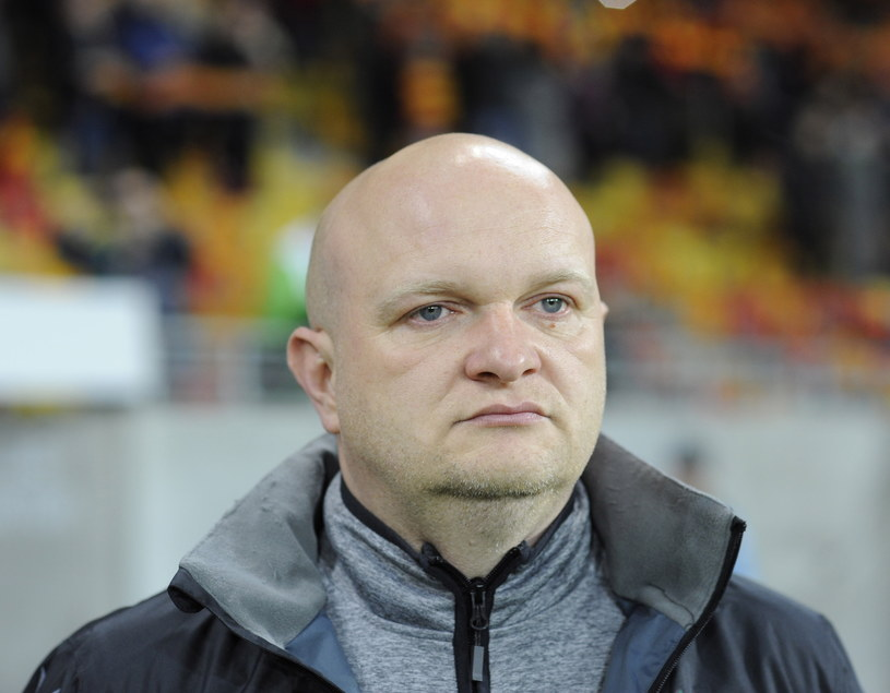 Trener Korony Kielce Maciej Bartoszek /Fot. Michał Zieliński /PAP