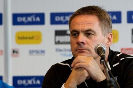 Trener Lecha, Jacek Zieliński /AFP