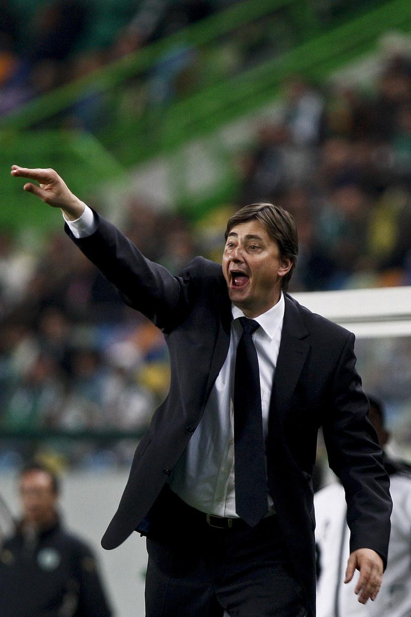 Trener Lecha Maciej Skorża ma w kadrze już trzech Węgrów. /AFP
