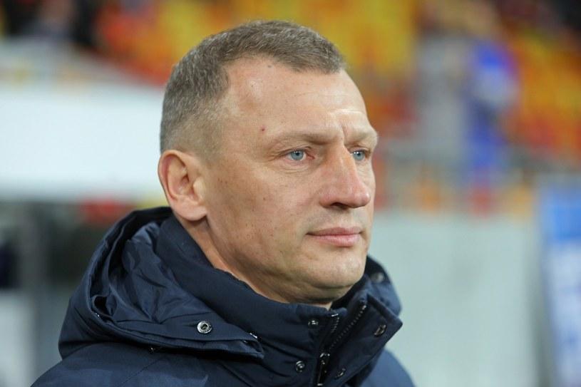 Trener Lecha Poznań Dariusz Żuraw / Artur Reszko    /PAP