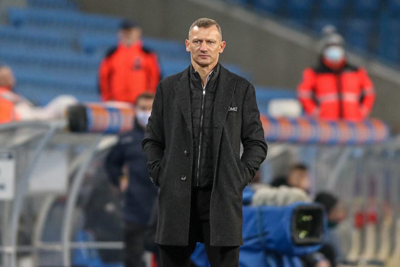 Trener Lecha Poznań Dariusz Żuraw /Pawel Jaskolka / PressFocus / NEWSPIX.PL /Newspix