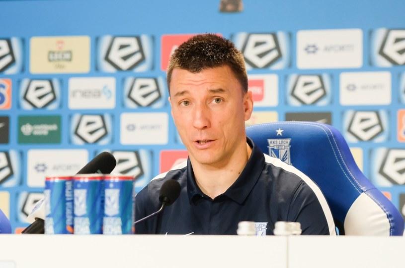 Trener Lecha Poznań Ivan Djurdjević /PAWEŁ F. MATYSIAK/POLSKA PRESS /East News