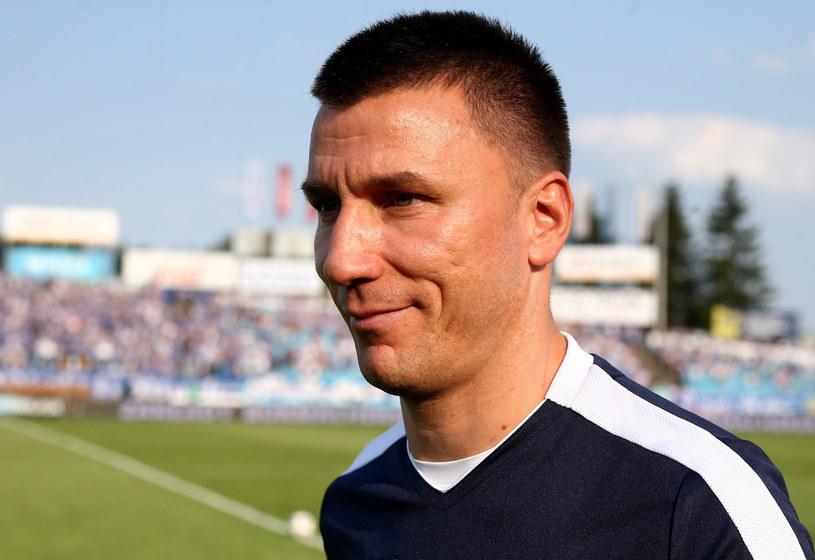 Trener Lecha Poznań Ivan Djurdjević /Marcin Bednarski /PAP