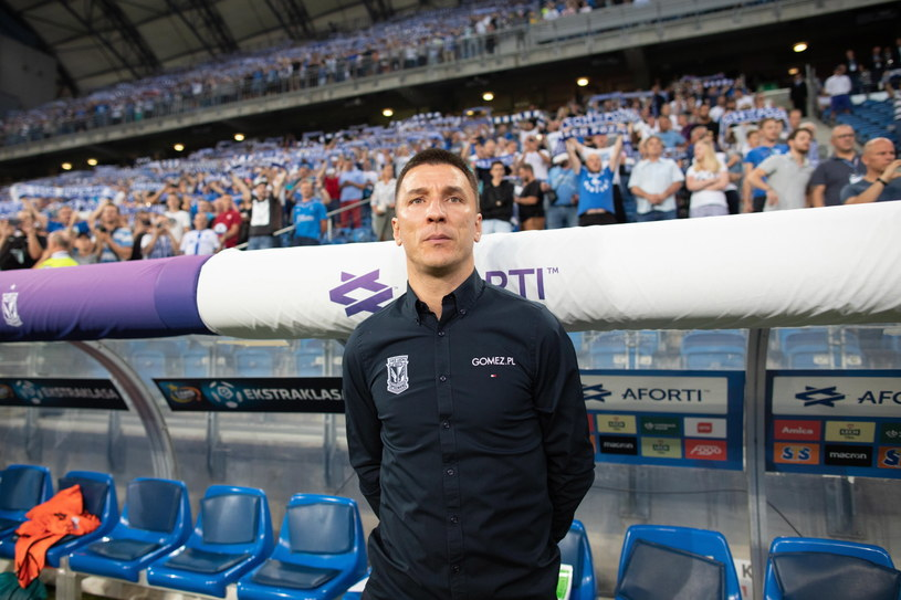Trener Lecha Poznań Ivan Djurdjević /Bartosz Jankowski /PAP