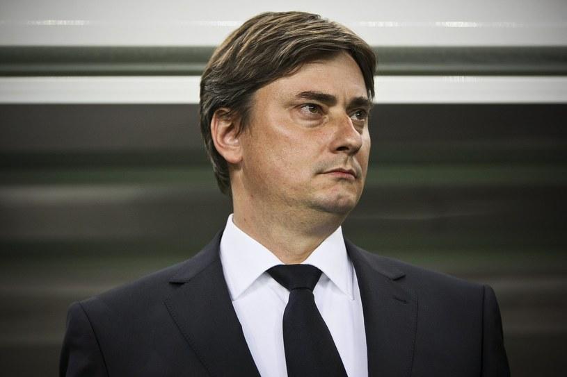 Trener Lecha Poznań Maciej Skorża /AFP